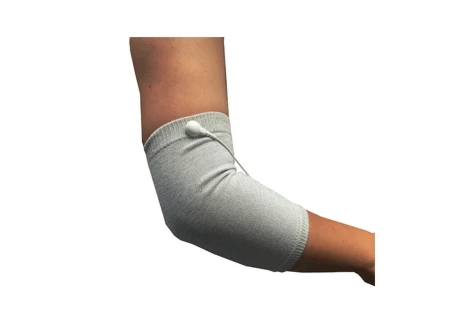 Conductive Silver thread Knee or Elbow Sleeves for TENS & EMS electrode to snap on - HealthmateForever.com