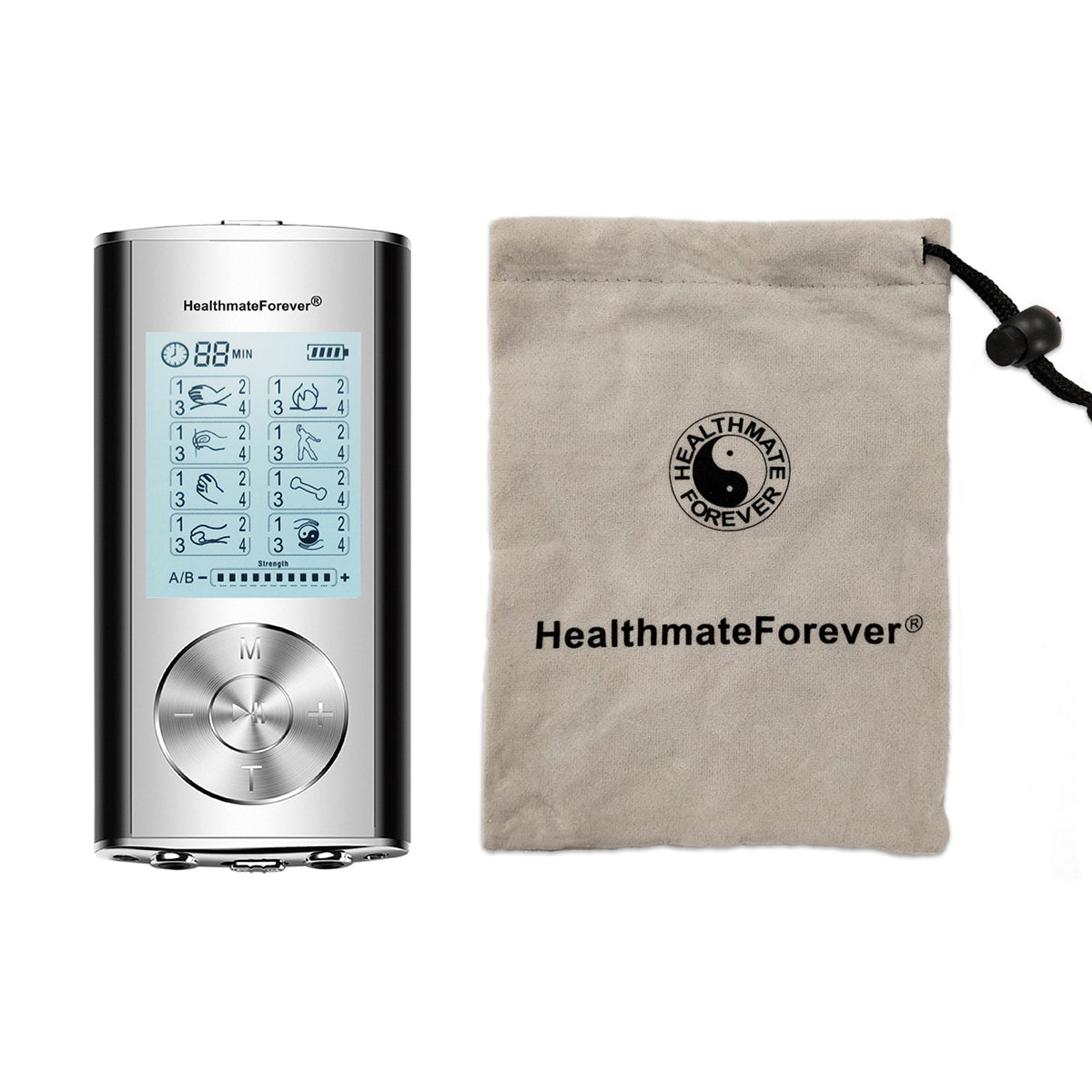New Arrival - 2020 Version 32 Modes HM32AB TENS Unit & Muscle Stimulator - 2 Year Warranty - HealthmateForever