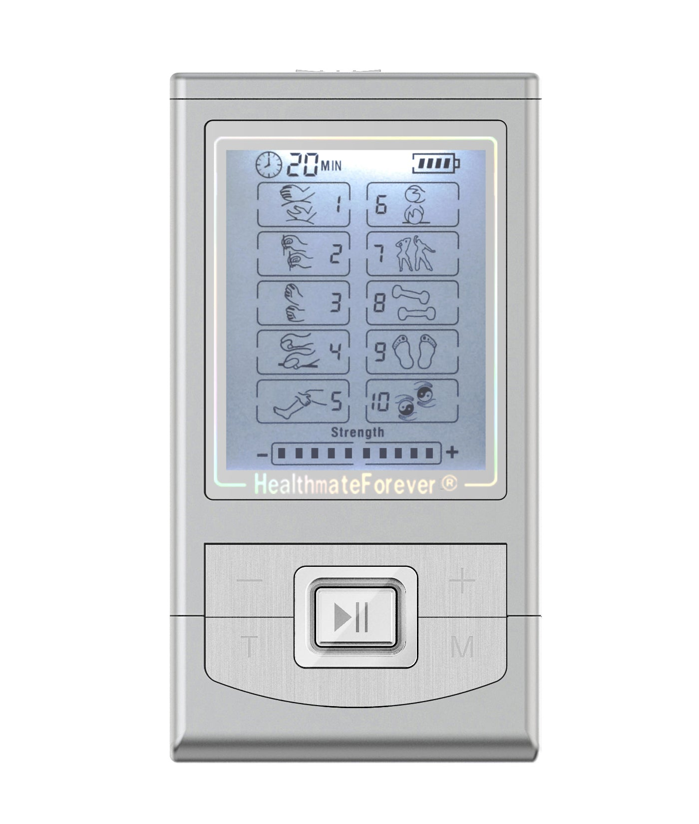 NK10GL TENS Unit & Muscle Stimulator - HealthmateForever