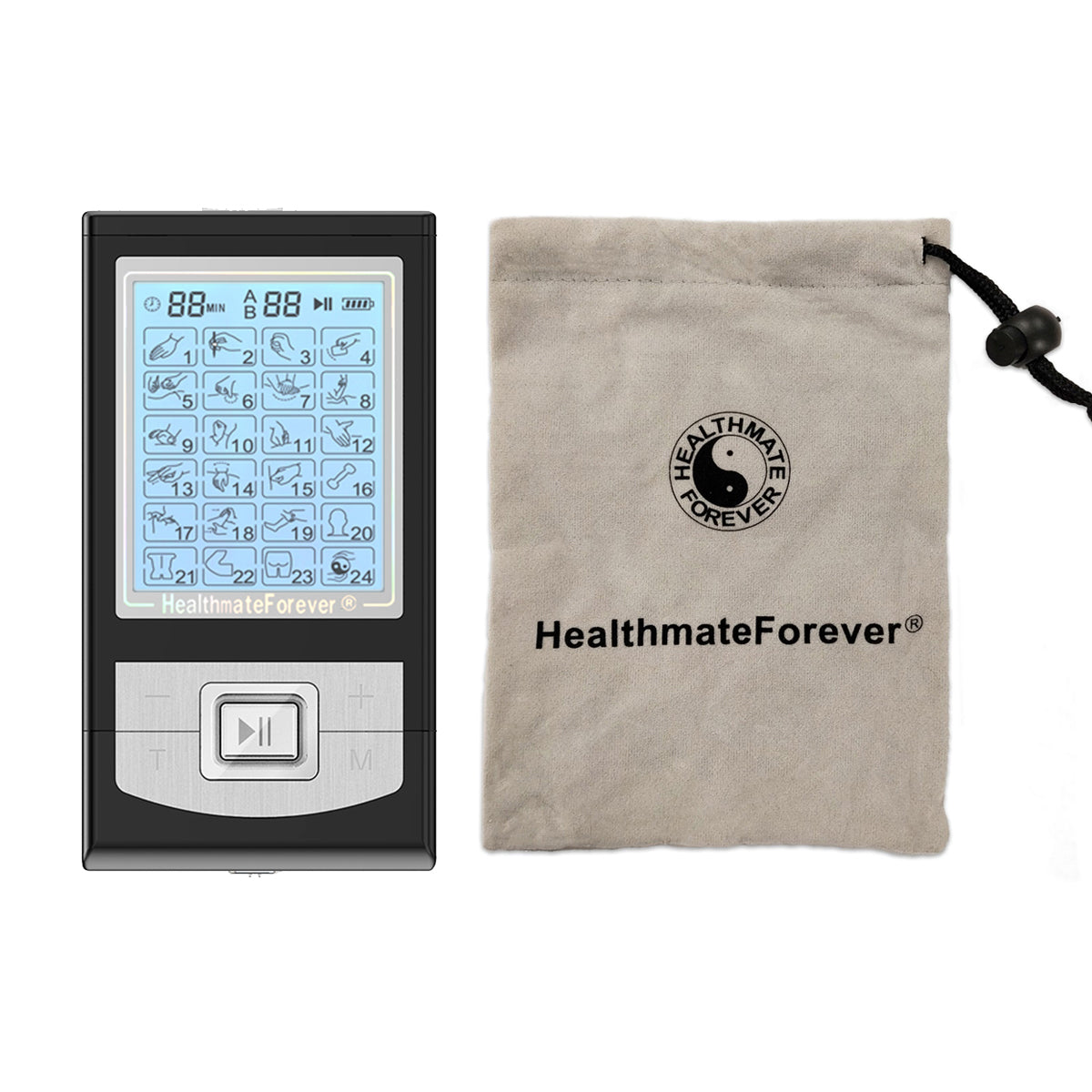 2020 Version 24 Modes NK24AB  TENS unit & Muscle Stimulator - HealthmateForever