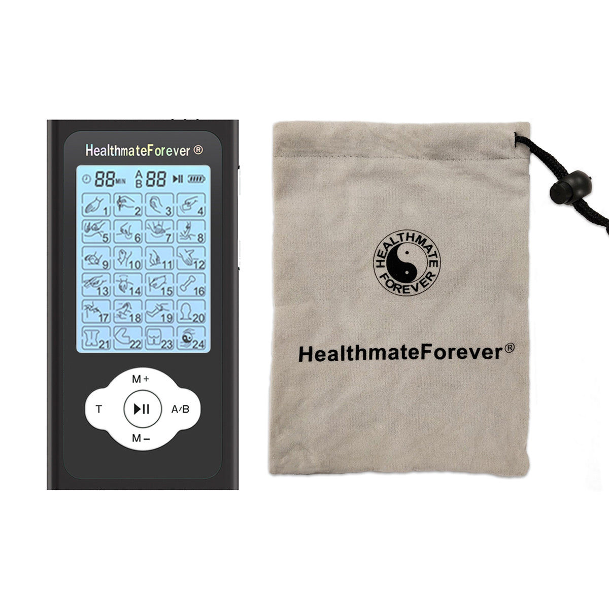 2020 Version 24 Modes PRO24ABQ  TENS unit & Muscle Stimulator - HealthmateForever