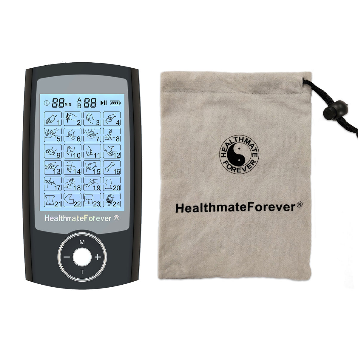 2020 Version 24 Modes PRO24AB TENS unit & Muscle Stimulator - HealthmateForever