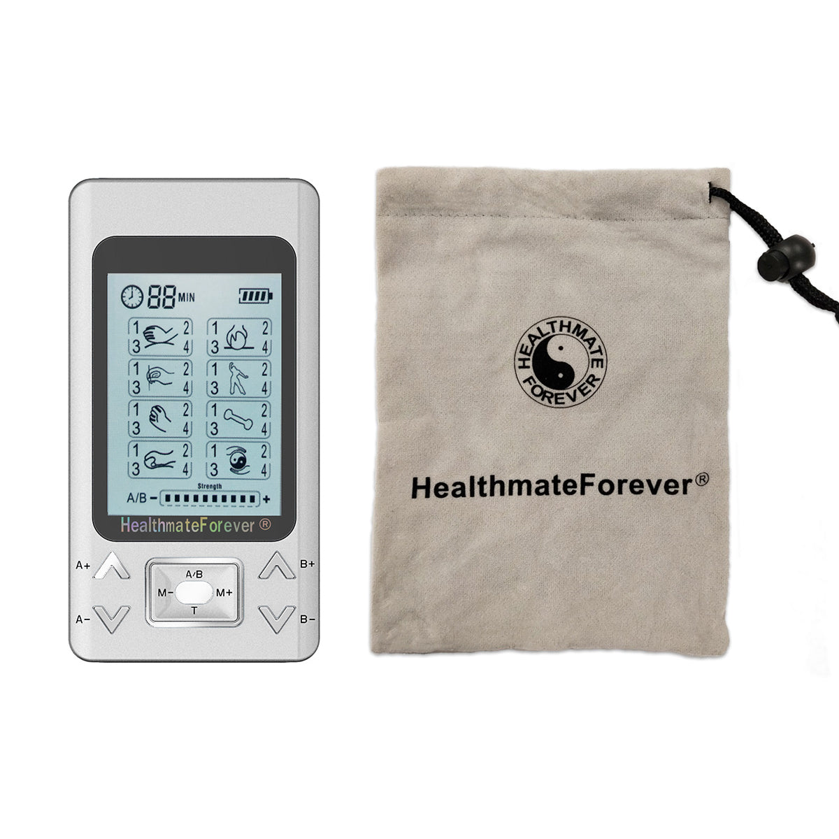 New Arrival - 2020 Version 32 Modes PRO32AB2 TENS Unit & Muscle Stimulator - 2 Year Warranty - HealthmateForever