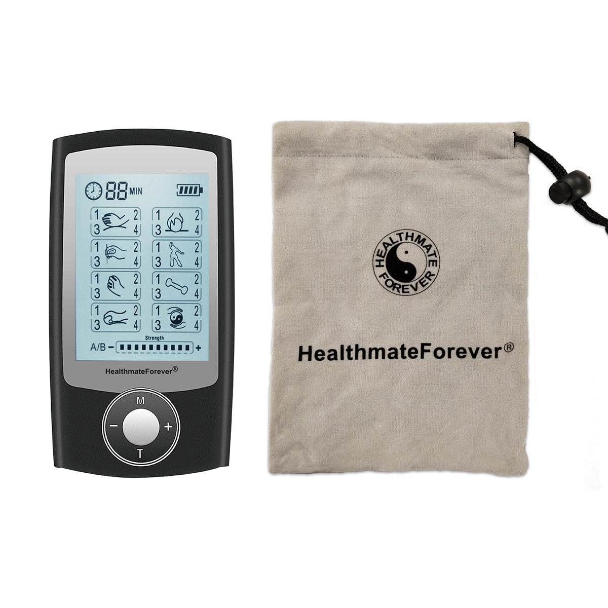 New Arrival - 2020 Version 32 Modes PRO32AB TENS Unit & Muscle Stimulator - 2 Year Warranty - HealthmateForever