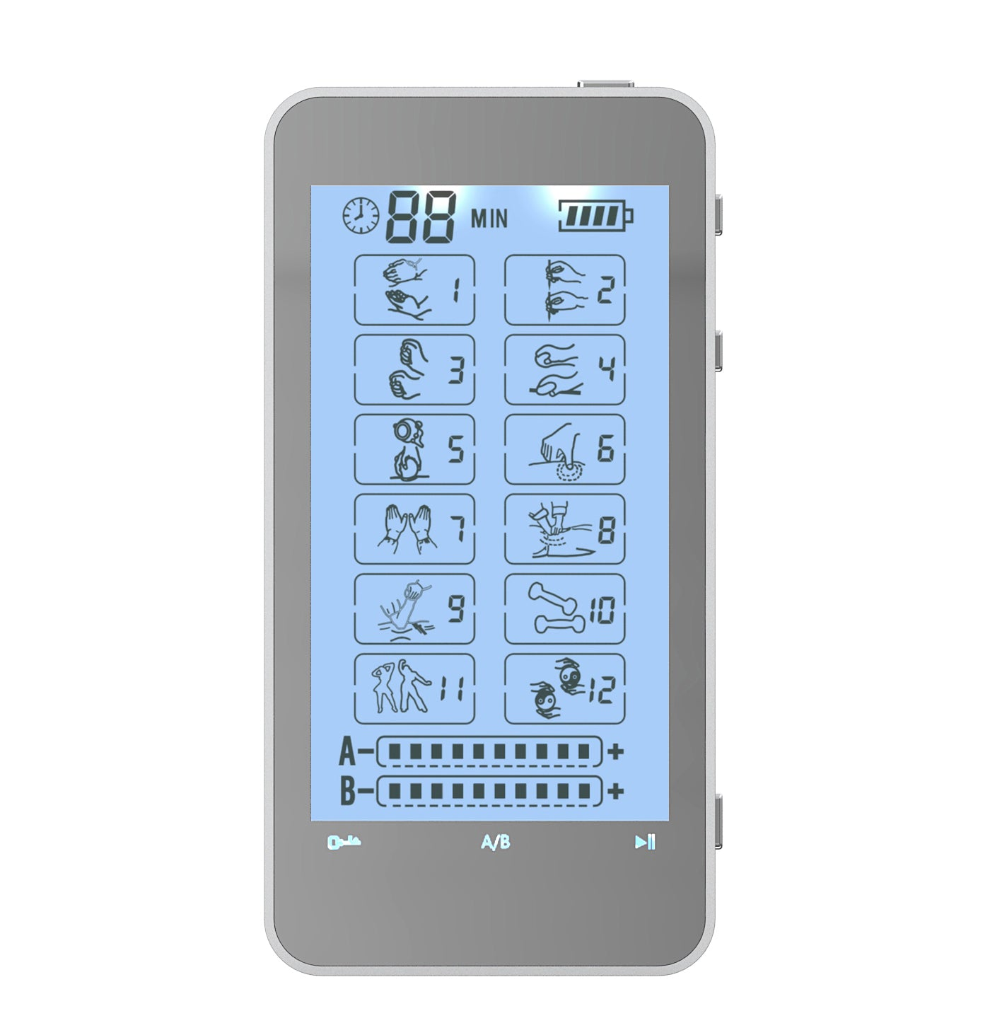 T12AB FDA Cleared 12 mode Touch Screen Pain Relief TENS UNIT - HealthmateForever