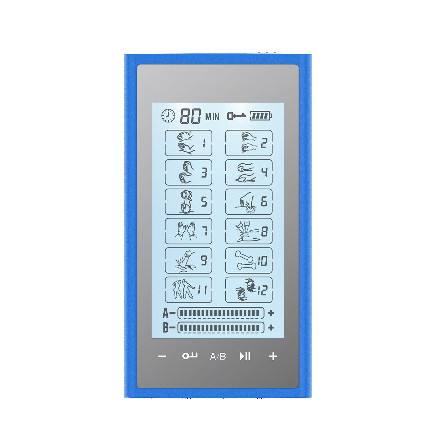 Touch Screen T12AB2 TENS Unit & Muscle Stimulator - HealthmateForever