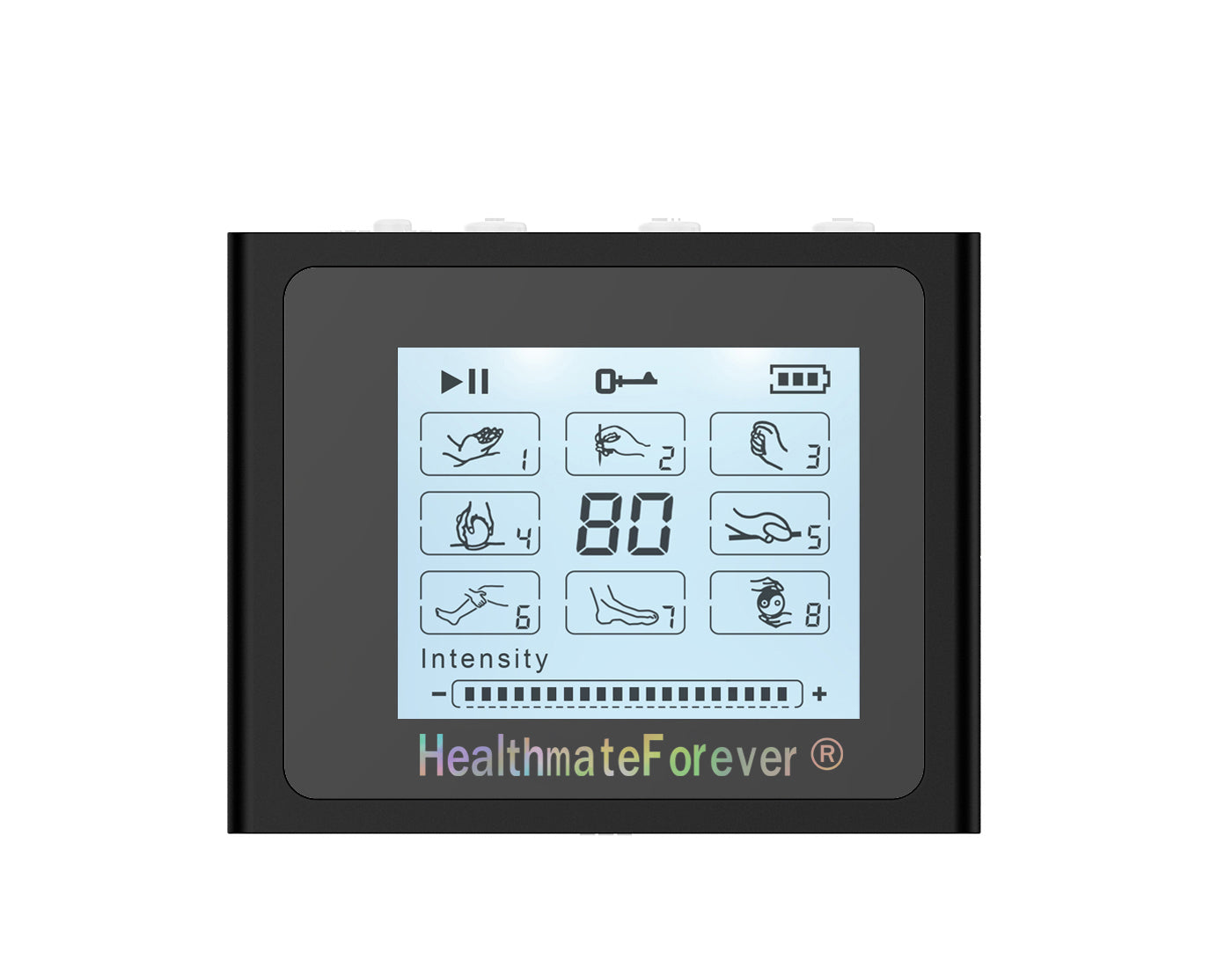 Dent & Scratch Touch Screen TS8 TENS Unit & Muscle Stimulator - HealthmateForever.com