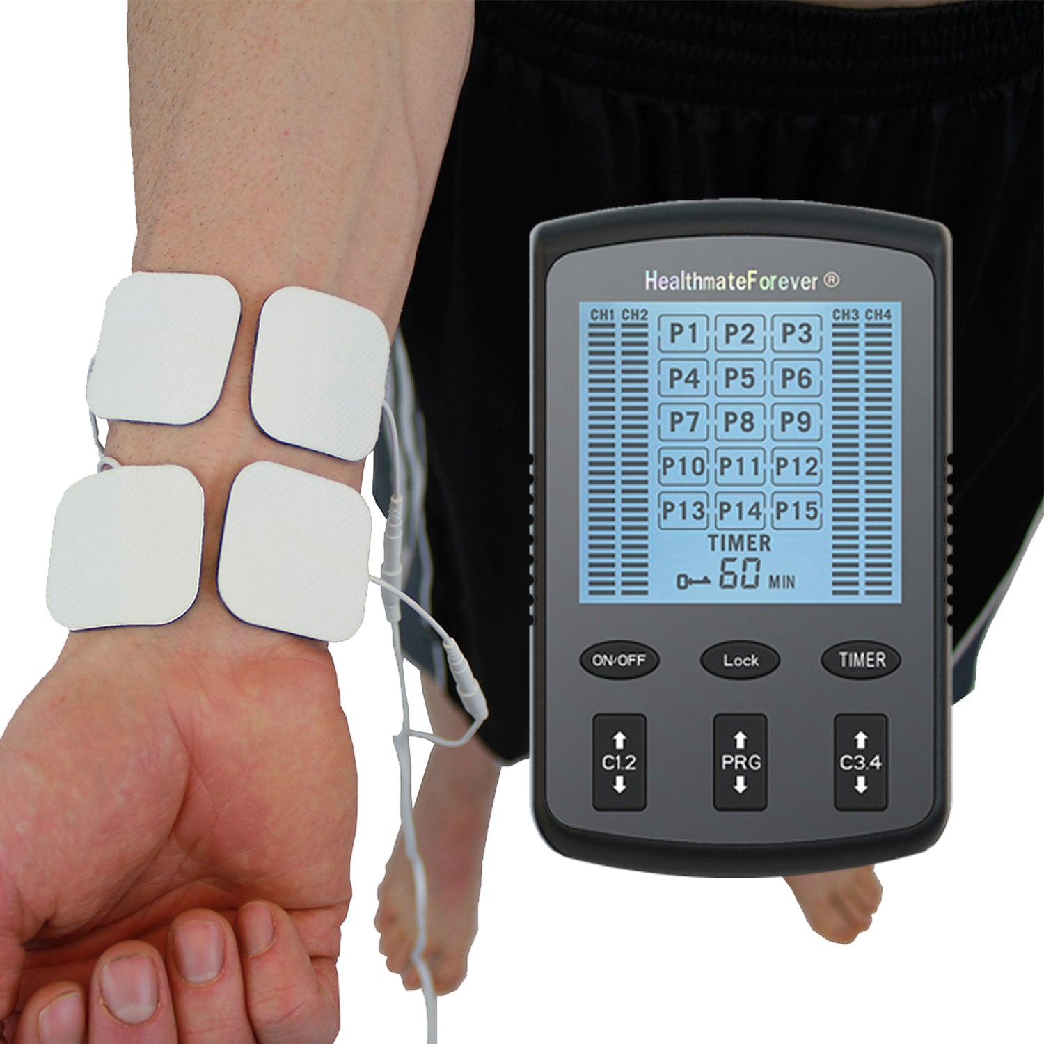 2019 Version ZT15AB Powerful Electrotherapy Pain Relief TENS UNIT - HealthmateForever