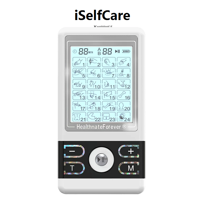 2020 Version 24 Modes BM24AB iSelfCare® TENS unit & Muscle Stimulator - HealthmateForever