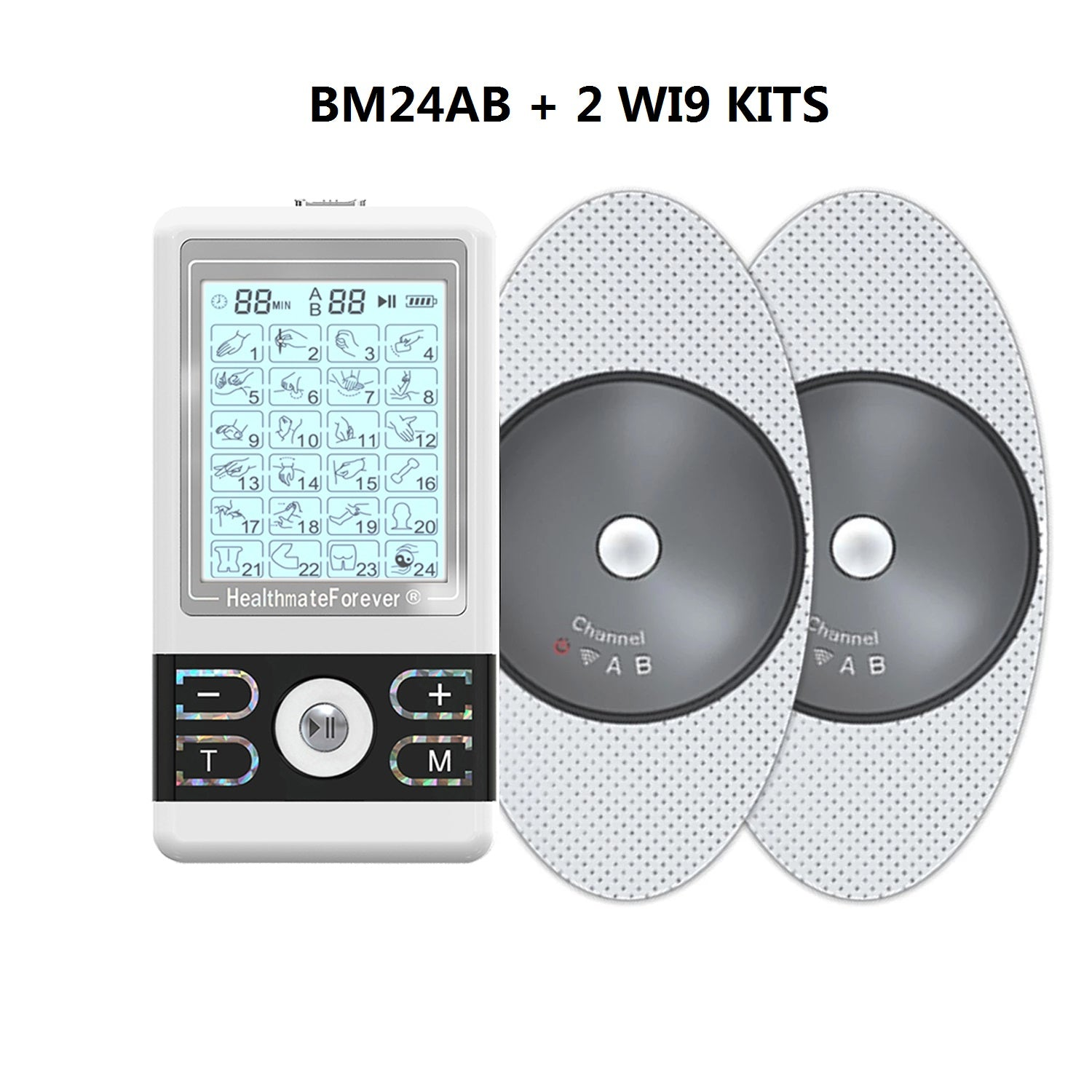 2020 Version 24 Modes BM24AB TENS unit & Muscle Stimulator