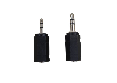 2 Adapters for 2.5/3.5mm output/input - HealthmateForever