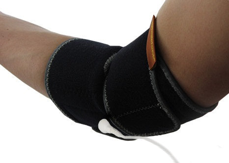 Conductive Elbow Brace / Support / Wrap for TENS & Muscle Stimulator Pain Management - HealthmateForever.com