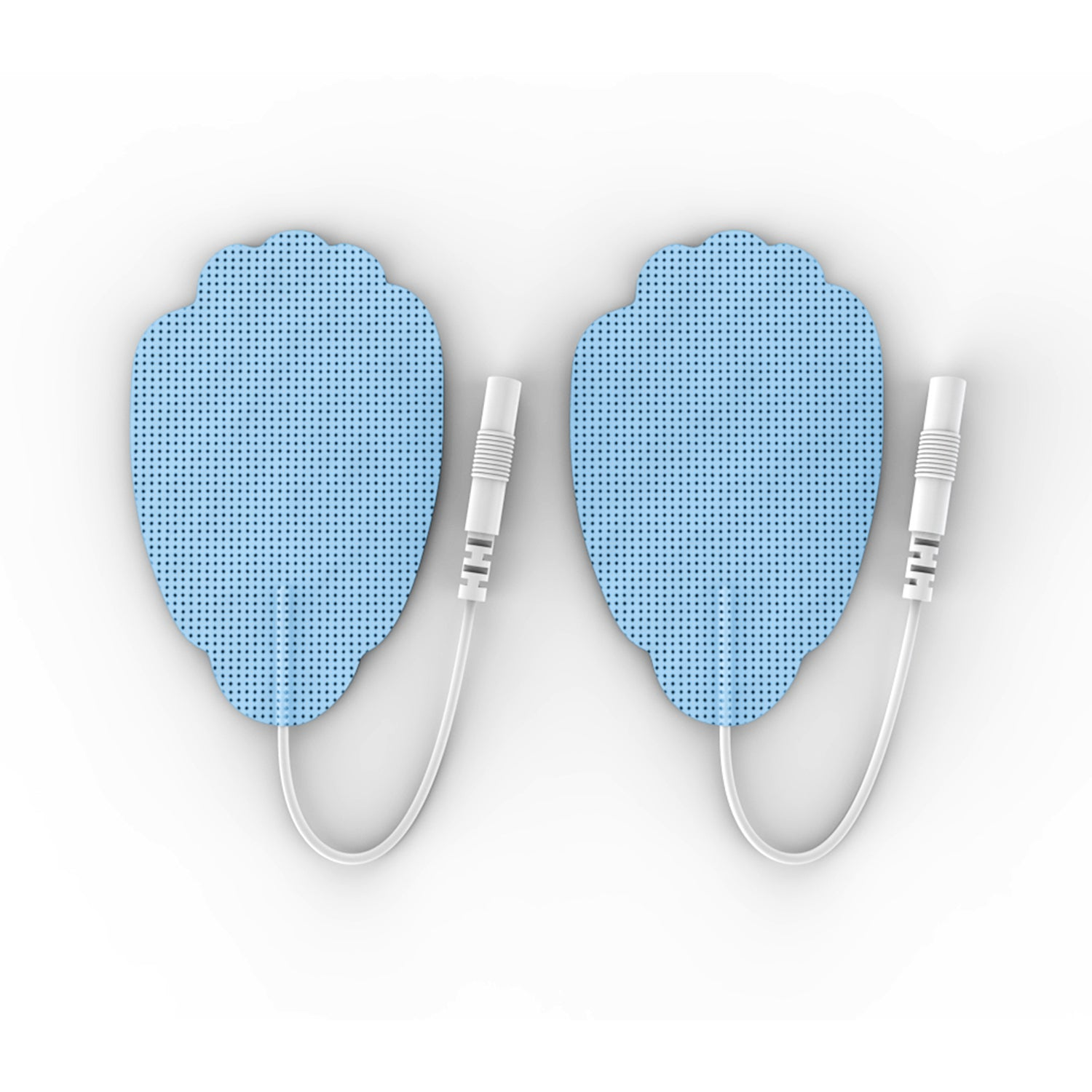 Pair of Pin-Insert Large Hand-Shaped Pads