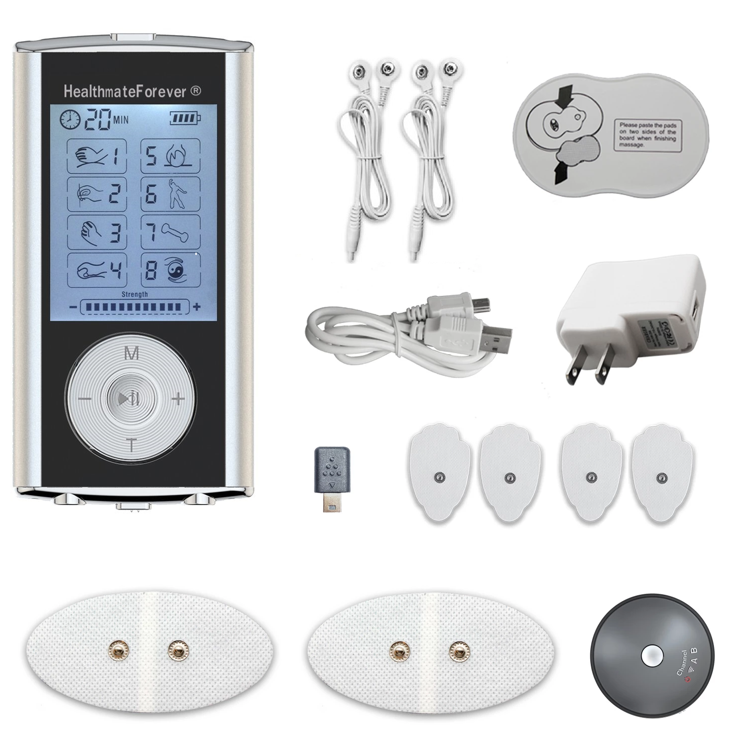 HM8GL TENS Unit & Muscle Stimulator