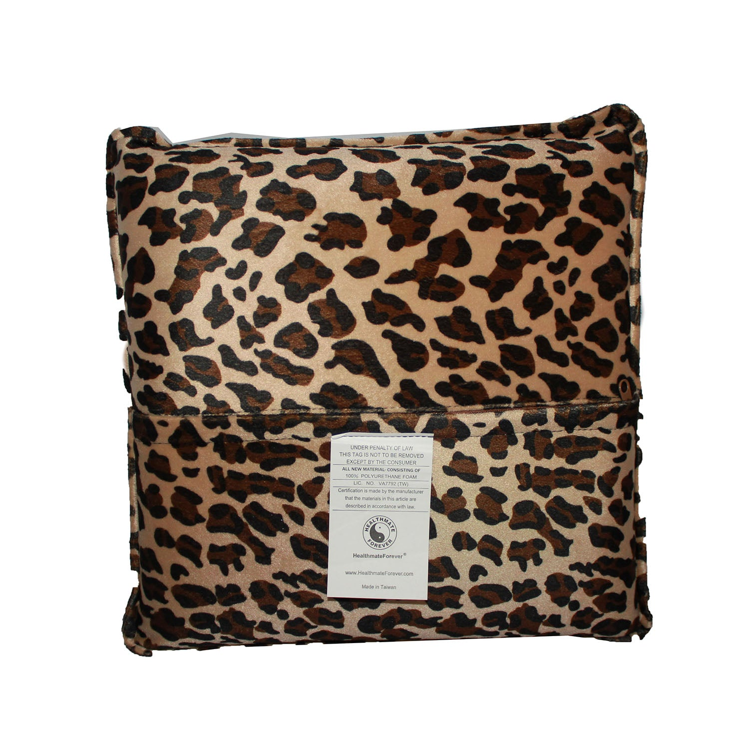 Pressure Activated Massage Pillow Big Leopard - HealthmateForever