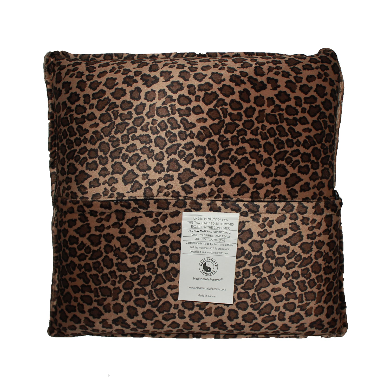 Pressure Activated Massage Pillow Small Leopard - HealthmateForever
