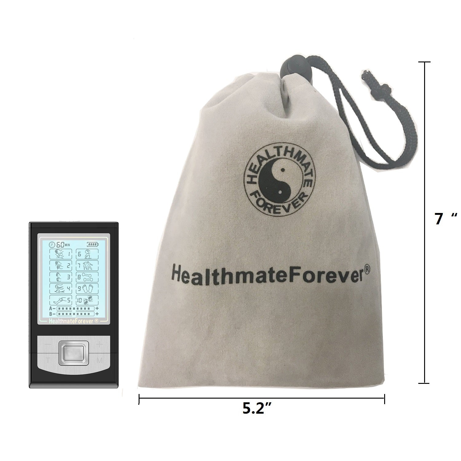 NK10AB TENS Unit & Muscle Stimulator - HealthmateForever.com