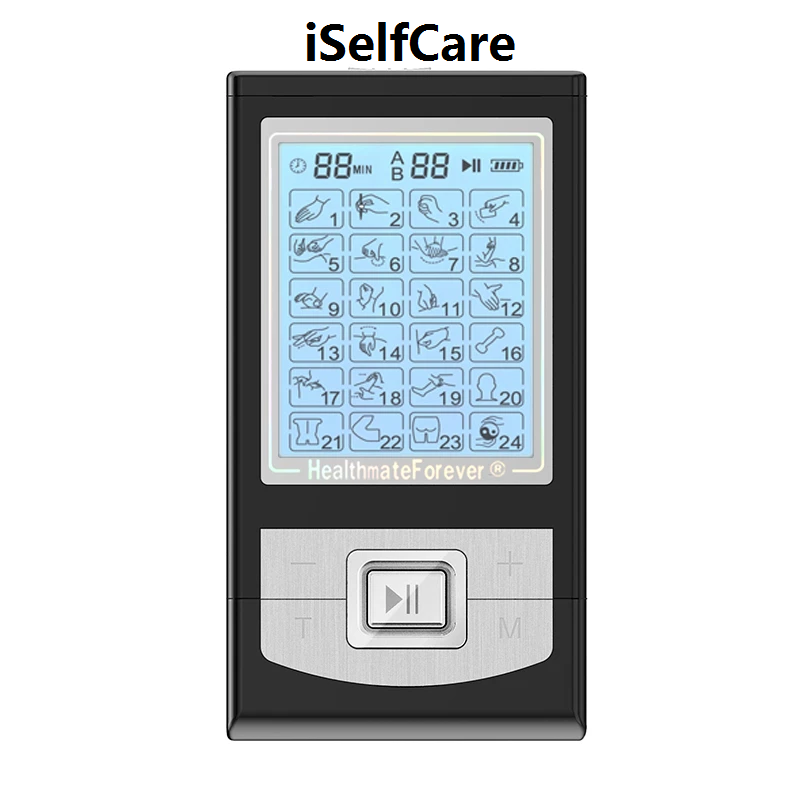 2020 Version 24 Modes NK24AB iSelfCare® TENS unit & Muscle Stimulator - HealthmateForever