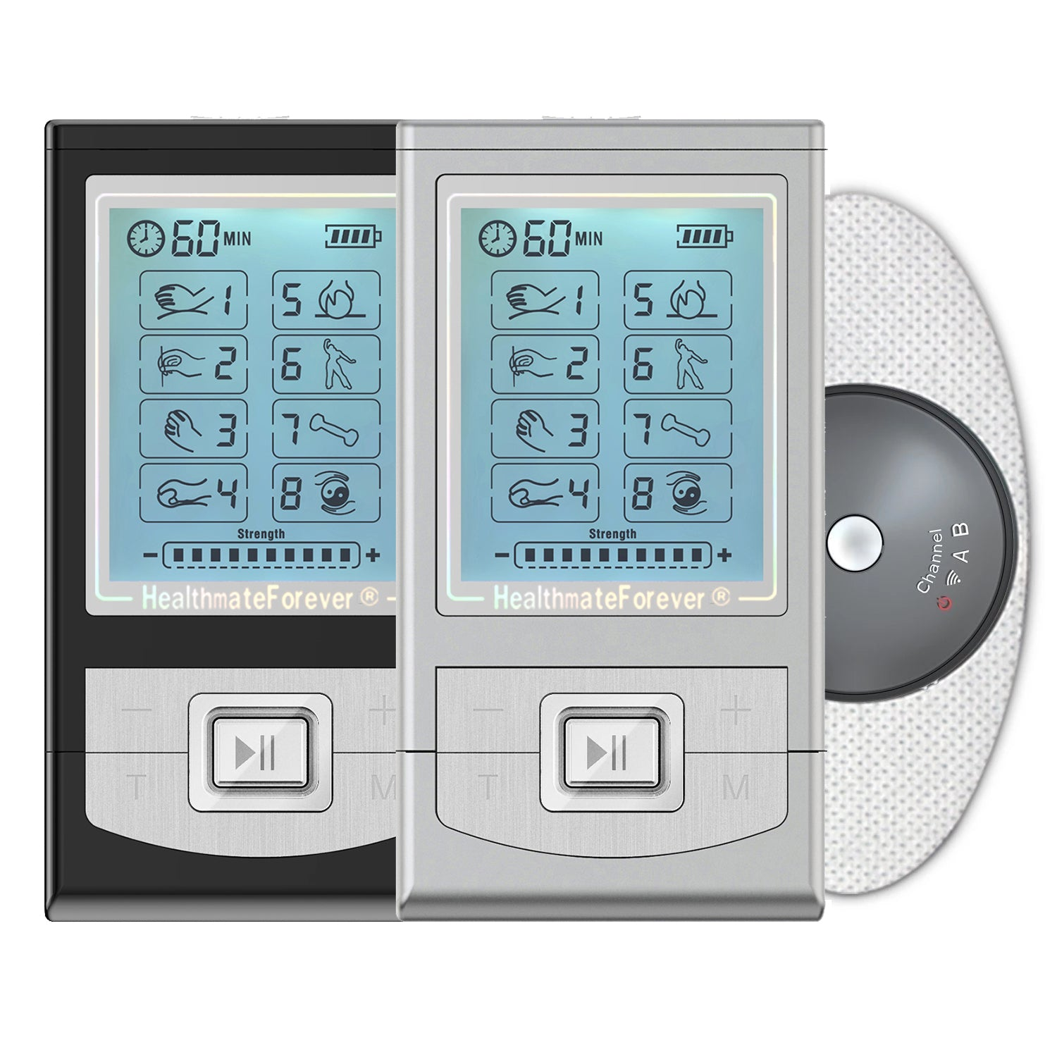 NK8GL TENS Unit & Muscle Stimulator - HealthmateForever