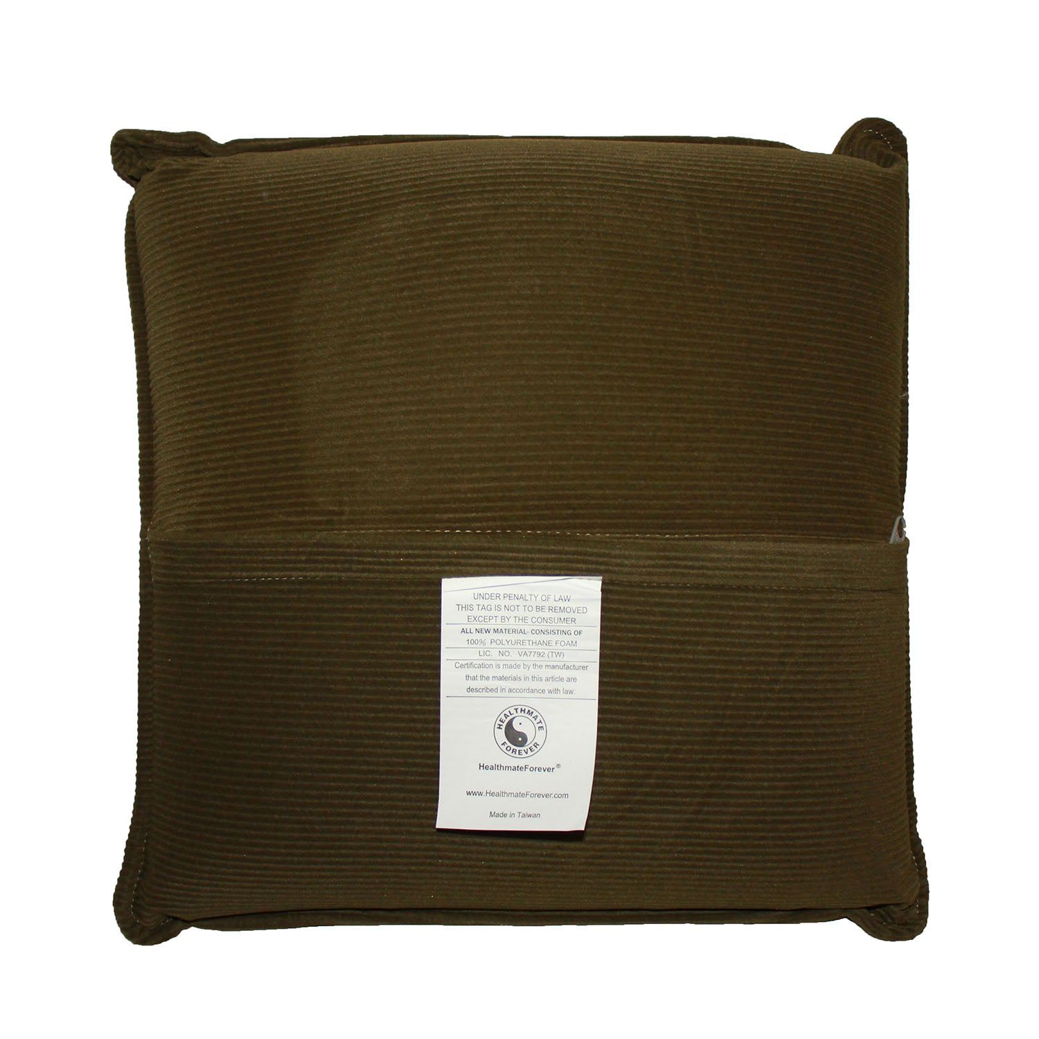 Pressure Activated Massage Pillow Olive Green - HealthmateForever.com