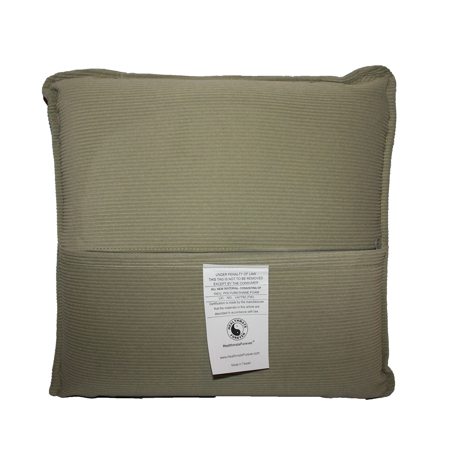 Pressure Activated Massage Pillow Sage Green - HealthmateForever