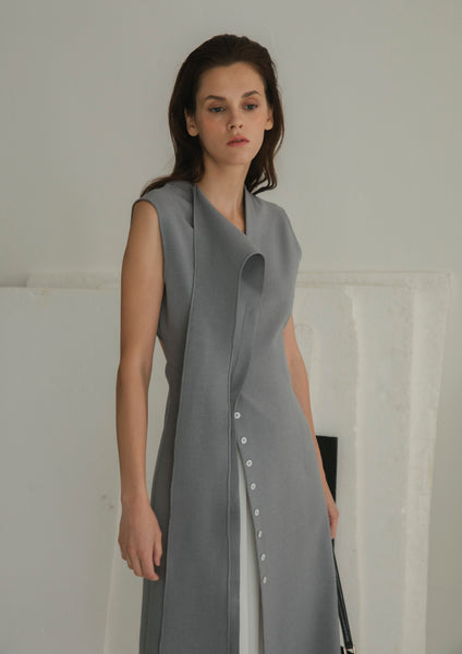 Carter Dress Light Grey