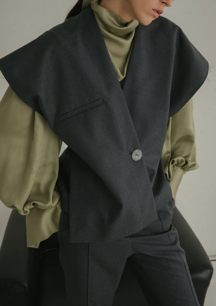 Meryl Outerwear Dark Grey