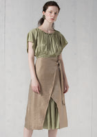 Laura Skirt Fancy Brown