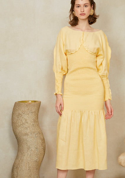 Rachel Dress Yellow