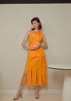 Rora Skirt Orange