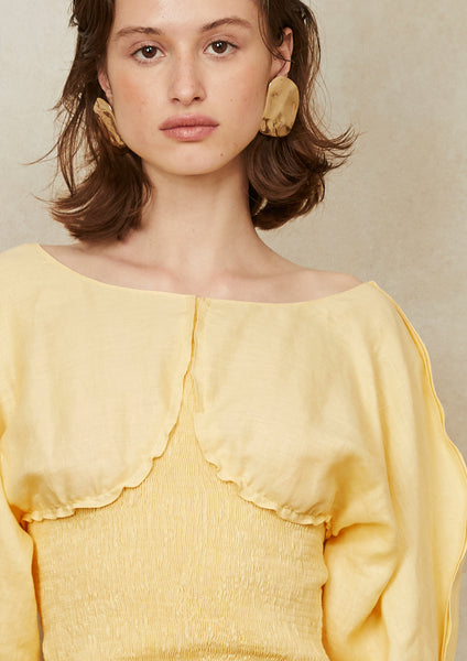 Runi Top Yellow