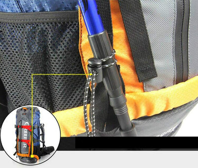 Travel Bag Waterproof Climbing Camping & Hiking  60 L