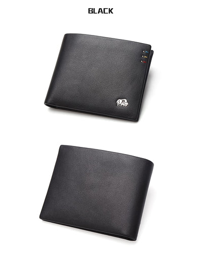 Slim Wallet Men Genuine leather Purses