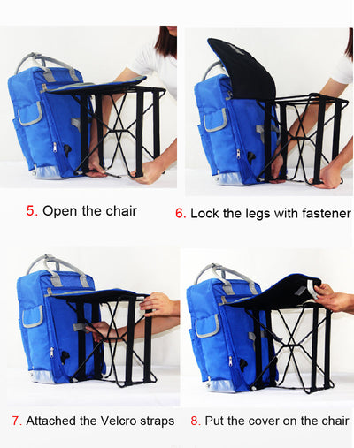 Travel Bag Chair Foldable  Outdoor Camping