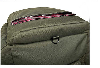 Travel Bag Military Large  waterproof oxford/canvas backpack  90 L
