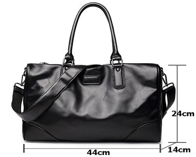 Leather Bags For Men PU Large Laptops Bag 14""