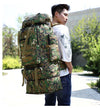 Hiking Backpack Tactical  Rucksack Mountain Sports 70L 100L