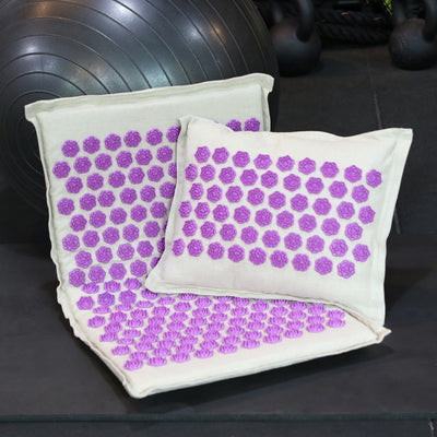 Back Massage Mat Pillow Set Back Neck Pain Relief