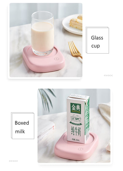 Coffee Cup Warmer Portable Heater Hot Milk Tea