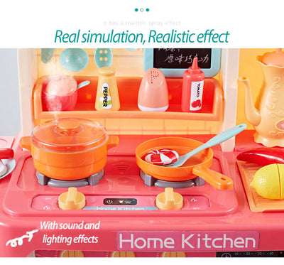Kitchen Toys Set 65 pcs Simulation  2-4 Years