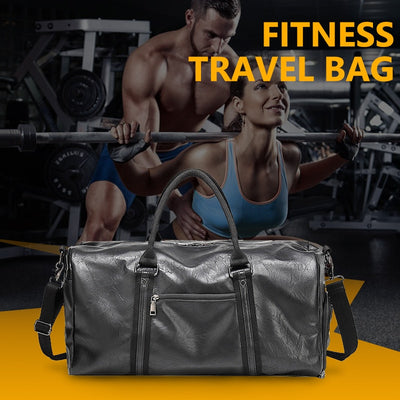 Gym Bag For Men Large Travel bag  Leather