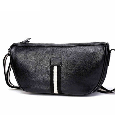 Shoulder Bag Man Vintage Leather