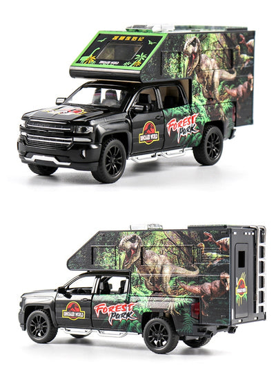 Jurassic World Toys Transport Truck Model 1:32 Scale