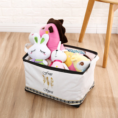 Storage bin Fabric Storage Basket Folding Toys