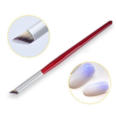 Nail Art Design Shading Pen Brush Sponge Head Rhinestone