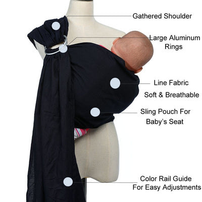 Baby Sling Fabric Breathable Soft Baby Wrap