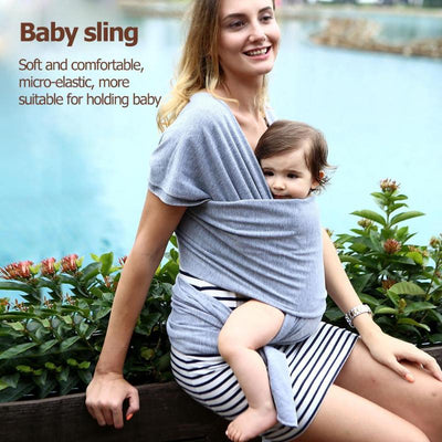Baby Sling Soft Carrier 0-3Y Breathable Cotton