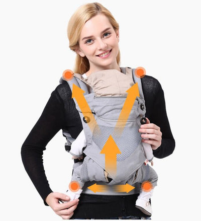 Baby Wrap Cotton 0-36 M Ergonomics Baby Carrier