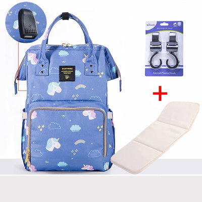 Diaper Bag Large  & Travel Backpack For Mummy