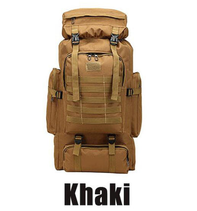 Travel Bag Military Tactical  & Climbing Hiking Waterproof  80 L